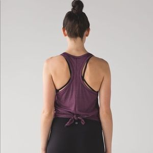 LuluLemon | Tie it up singlet tank